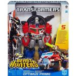 Transformers BEAST HUNTER OPTIMUS PRIME - With Spinning CANNONS - NEW
